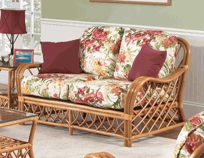 traditional rattan sofa cushions.